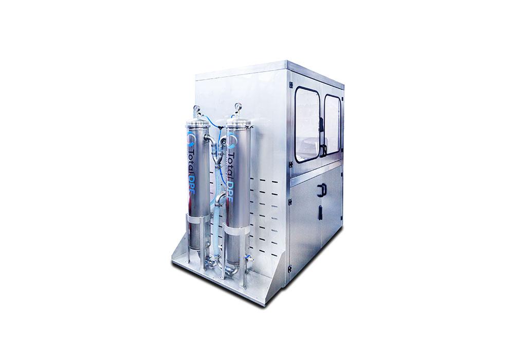DPF – Reinigungsmaschine